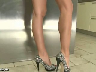 hot foot fetish channel, solo girls, real long legs