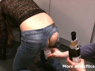 Fisting my girlfriends bilingüe gaping asshole