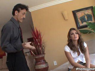 Allie haze gets banged by her stepdad