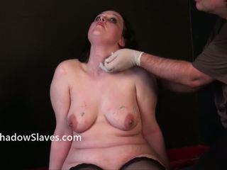 Scared Dabbler Slavegirls Needle Sadism And X Rated Plumpy Piercing Pain Of Crying English Emma Punished