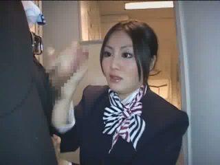 beobachten japanisch, überprüfen stewardess kostenlos