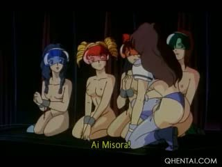 Hentai Teen Trio Used As Sex Slaves Abused By Dirty Aliens