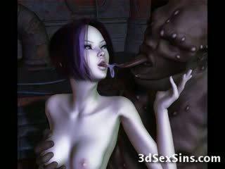 Ogres nailing 3d elf flickor!