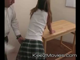 Kimberly Teen Spanked For Sleeping In Class - Train Wreck