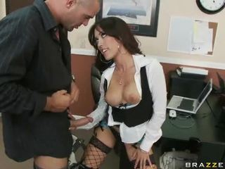 Large Titted Capri Having Sex At Work
