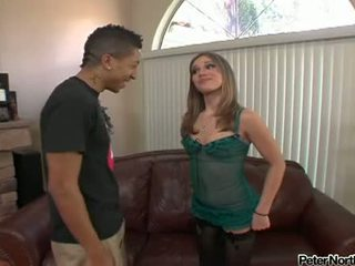 Schlong Stuffed Dakota Brookes Is Loving This Chabr Man's Love Muscle In Her Face Hole