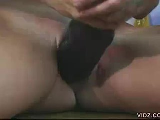 check toys quality, masturbating, full shaved pussy