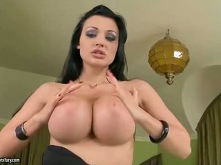 γεμάτος hardcore sex, ωραίος μεγάλα βυζιά περισσότερο, διασκέδαση αυνανισμός