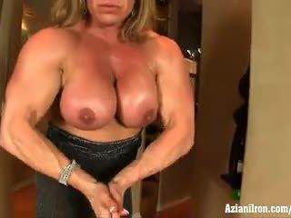 Aziani eisen reif bodybuilder wanda moore groß klitoris