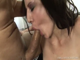 echt brunette video-, nieuw blow job, hard fuck