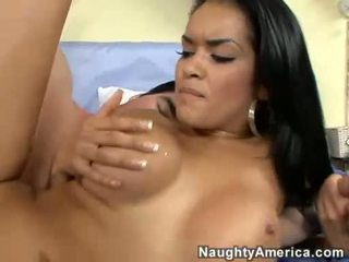 Daisy Dukes Getting Drilled Hard On Her Cunt Sideways