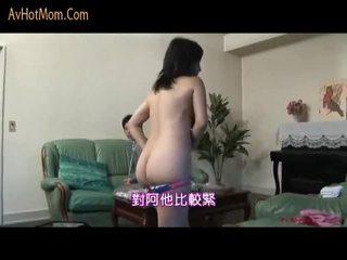 Japanese Mom Seduced By Salesman