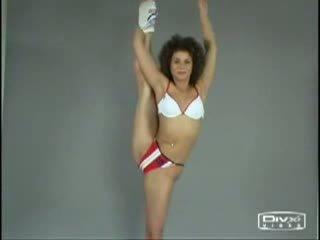 Nude aerobic