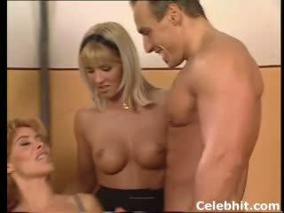 dubbele penetratie porno, vers groepsseks klem, meer kousen neuken