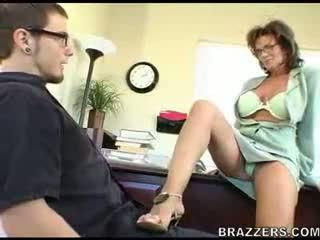 office porno, real moms and boys