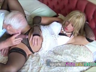 check crossdresser hottest, full blowjob, full lingerie real