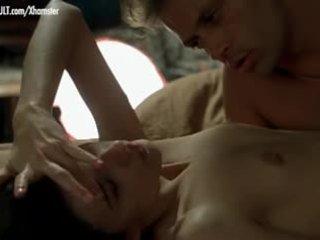 Caroline Ducey - Softcore scene from Romance