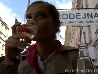 Czech girl fucked outdoor Video