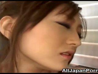 Ýapon jana gets pleasure from wibrator!