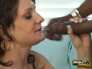 Excited Hot Bitch Gia Gold Fits A Blackzilla In Her Sugary Sweet Mouth