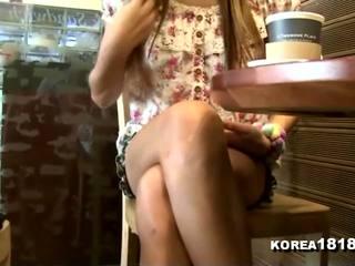 voyeur, massaggio, coreano