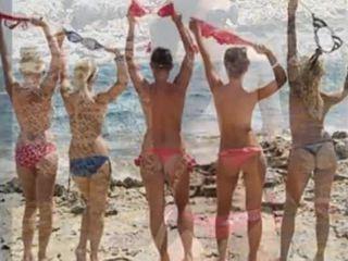 Nuogas paplūdimys penis burster