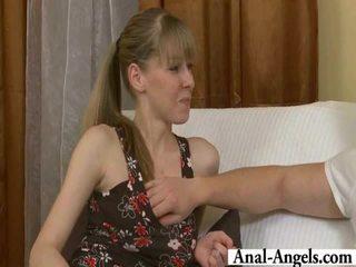beauty porno, skinny, check anal