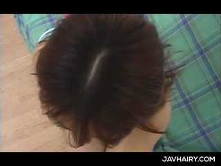 Gorgeous Asian Teen Gets Hairy Quim Spread And Tickled