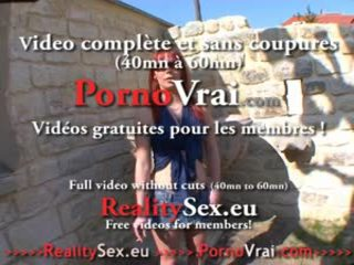 voyeur porn, french scene, full masturbation scene