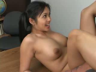 Asian hottie Mika Tan assfucked