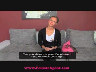 FemaleAgent Sleaze Blonde Nympho