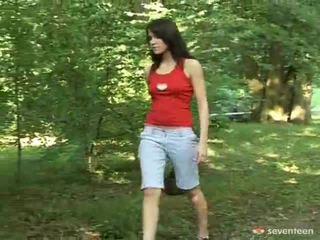Masturbating In The Forest