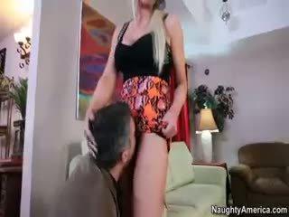 hq blowjob, noen blond du, hardcore