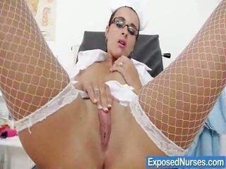Kirsten Plant Spicy Nurse Speculum Playthings