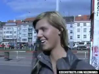 Czeska streets - ilona takes kasa na publiczne seks