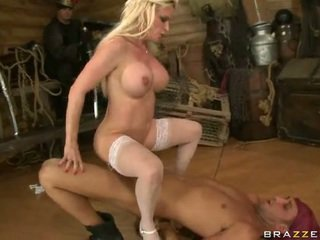 Busty Queen on a Pirate's cock