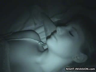 Sexy doll Fingered in Sleep