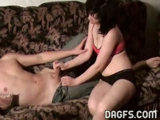 She sucks cock to pass the time