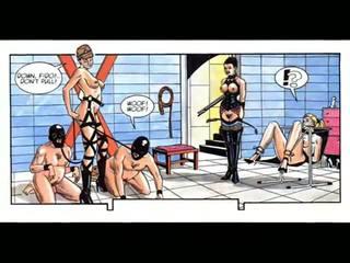 cartoons, comics, bdsm art