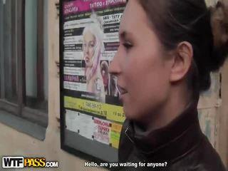 Sensuous Young Girl Has A Rough Pickup Shag