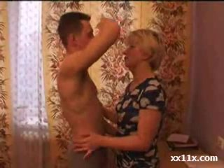 Horny Mom Seduces Her Sons friend
