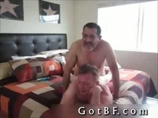 Bearded daddy Fucks His Lover In The ass 2 By GotBF