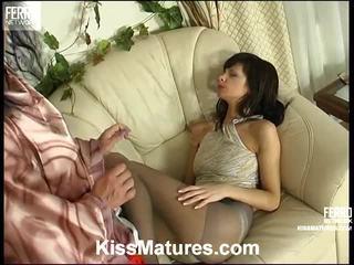 ideaal lesbische seks tube, groot porno meisje en mannen in bed tube, euro porn