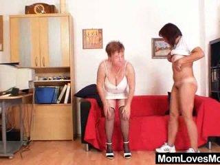 Elder Lezzy Strap Onto Plastic Schlong Sexual Intercourse