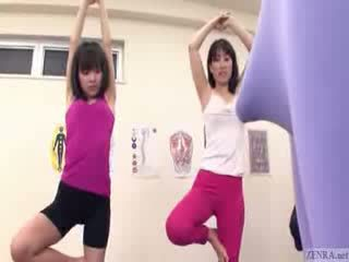 Jepang trainer gets erection at the gim