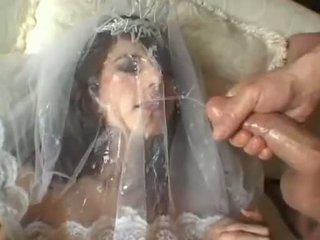Nóng cô dâu jackie ashe takes một lớn nhất và lộn xộn mặt cumsplash