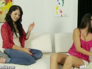 Nikki Daniels Mom Teaches Her To Suck Cock