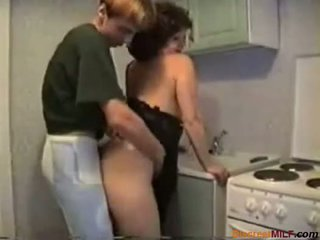 housewives, new mature real, kitchen