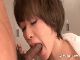 ideaal brunette vid, heet pijpbeurt porno, cumshot scène