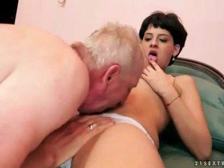 brunette film, nieuw hardcore sex tube, echt orale seks mov
